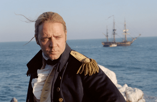 Master and Commander Russel Crow